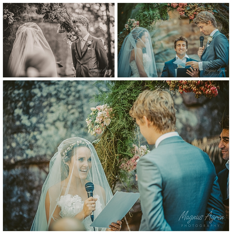 the vows of Rebecca Breeds and Luke Mitchell