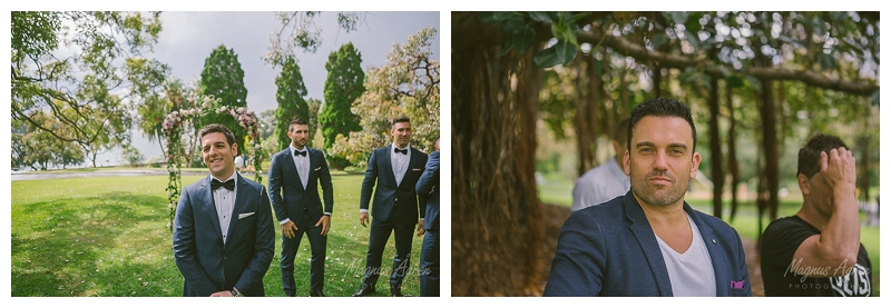 garden wedding relaxed photography