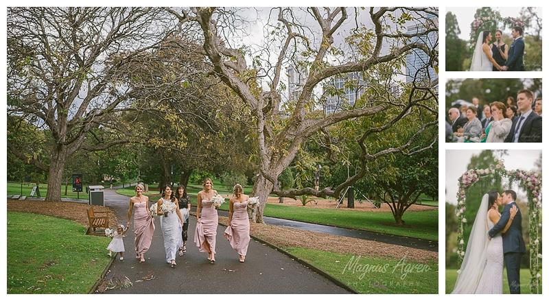 royal botanical gardens eucalypt lawn wedding
