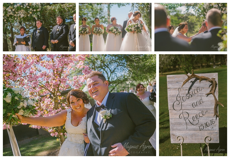 Sylvan glen country wedding