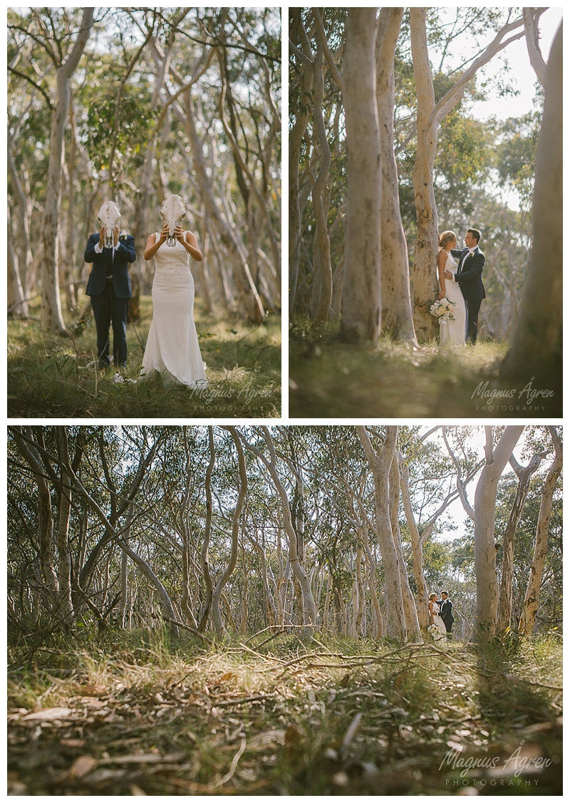 Bush wedding photographer