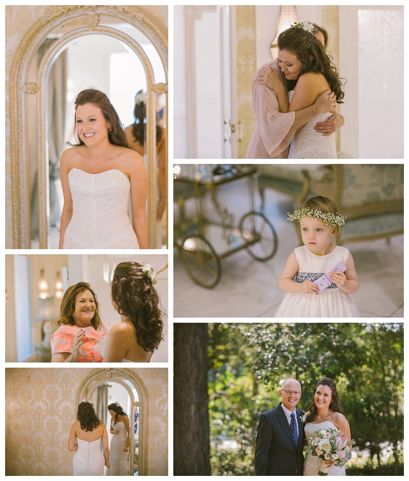 bride, jaspers berry, jaspers, bridal room, flower girl,