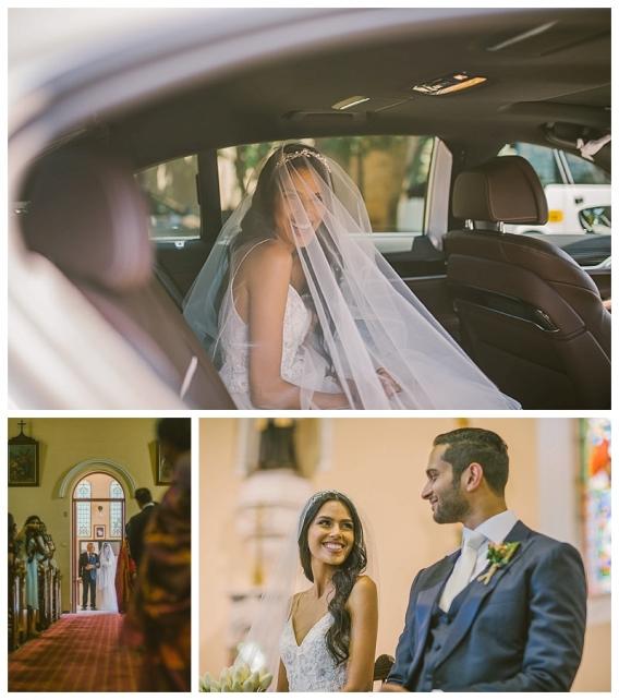 church wedding, relaxed wedding,