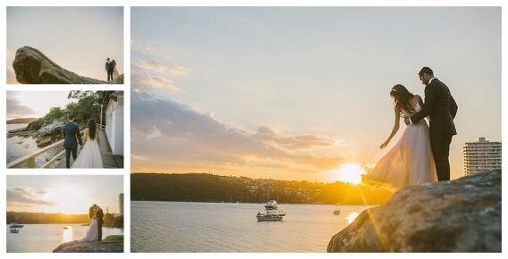 manly pavillion, manly, sunset, reception, seaside summer wedding, wedding photographer, photography, southern highlands wedding photographer, sunset photography, gather and stitch