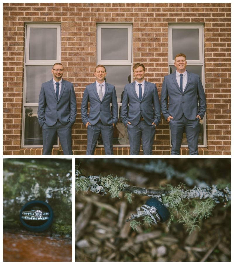 wedding rings, groom, groomsmen,