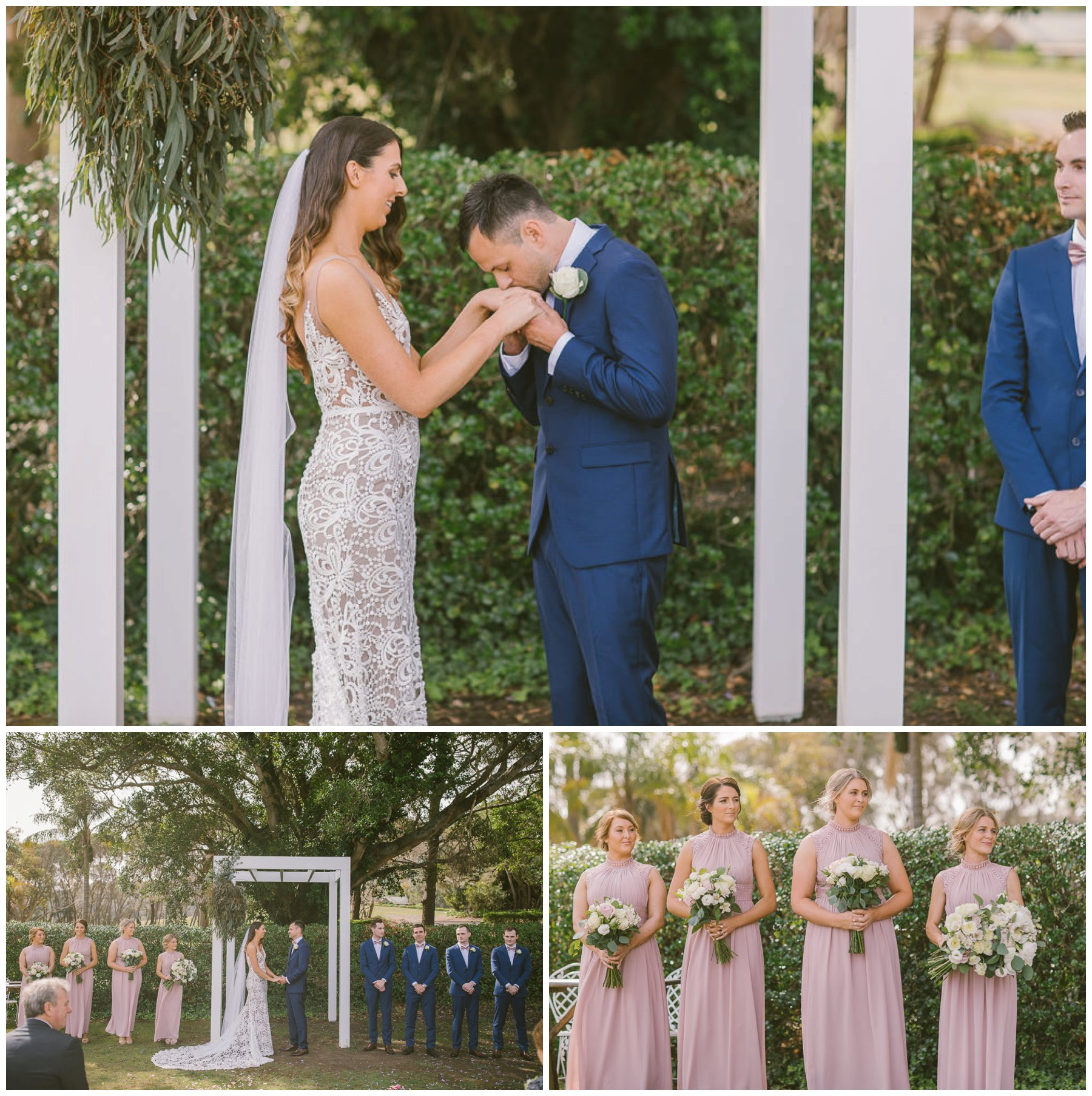 Patrick and Hollie, Coolangatta estate wedding, south coast wedding photographer, Southern Highlands wedding photographer, southern highlands photographer, ceremony, jack rose