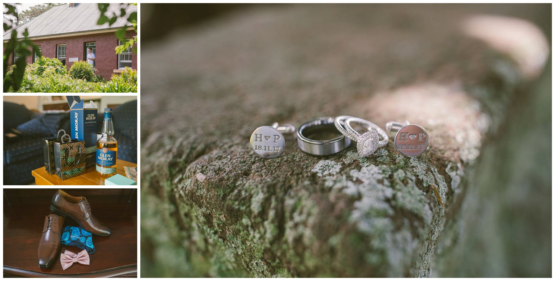 Patrick and Hollie, Coolangatta estate wedding, south coast wedding photographer, Southern Highlands wedding photographer, southern highlands photographer, rings, jewellery, cuff links
