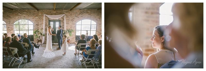 Mali Brae Farm Indoor Wedding ceremony