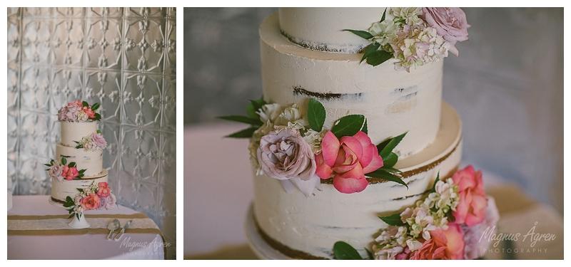 wedding cake violets and vinegar