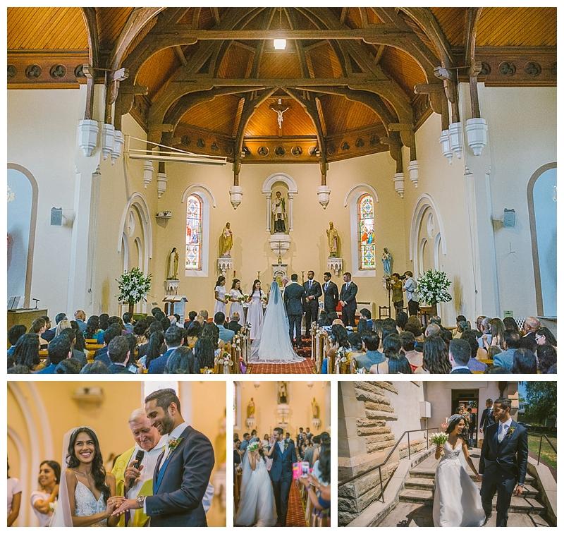 church wedding ceremony, southern highlands wedding photographer, catholic ceremony