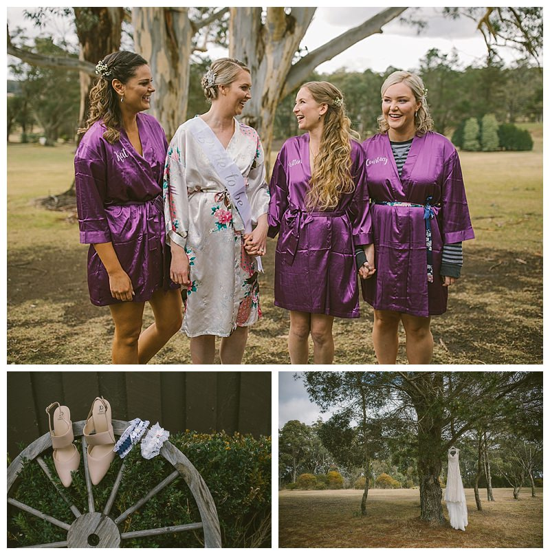 squad goals, bridal prep, magnus agren photography, sylvan glen, southern highlands photographer