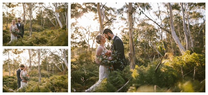 bush wedding, outdoor bride, just married, sylvan glen , southern highlands wedding photography ,southern highlands wedding photographer , magnus agren photography