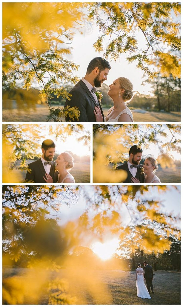 spring wedding, magnus agren photography, wattle, just married, sylvan glen wedding, farm wedding