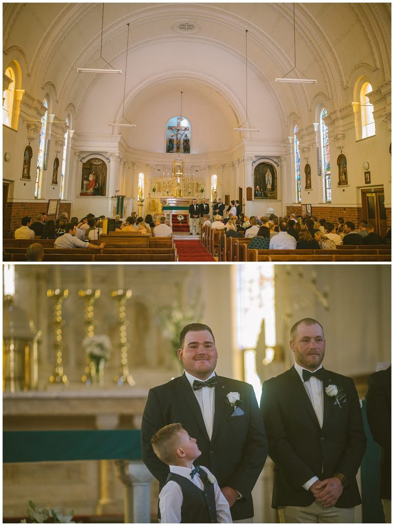 taralga church wedding ceremony, not in your face southern highlands wedding photographer