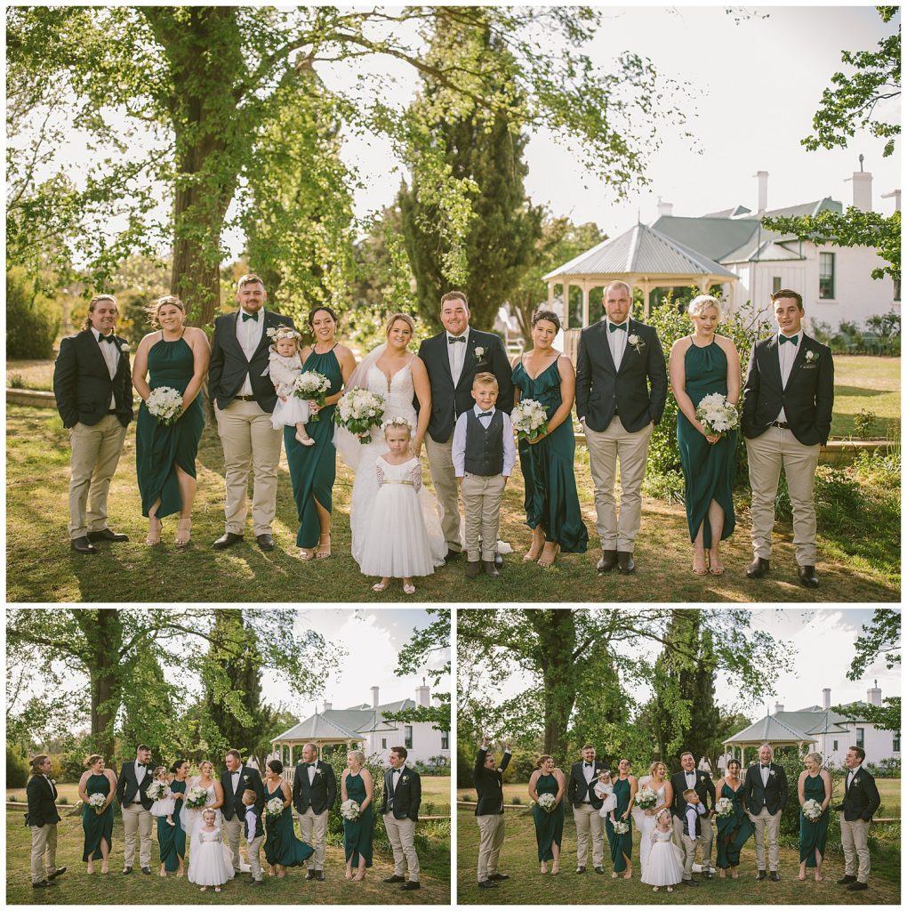 garrooigang homestead goulburn photographer, southern highlands, bridal party