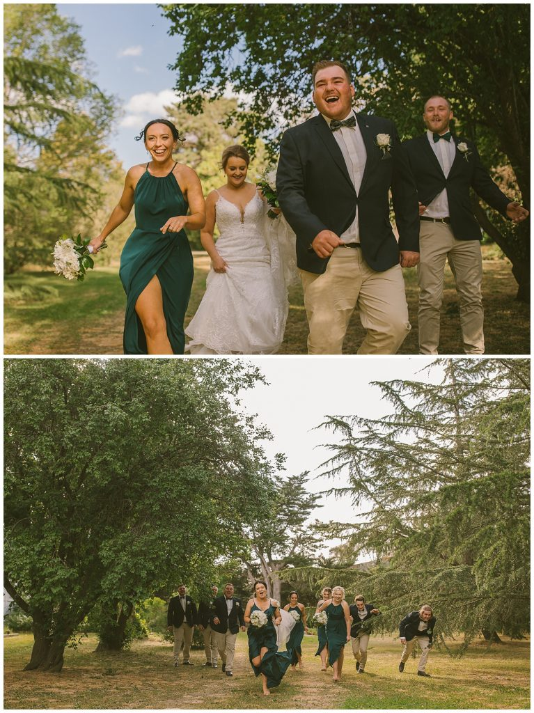 Garroorigang homestead goulburn photographer, southern highlands, bridal party goulburn race club wedding relaxed country wedding photographer