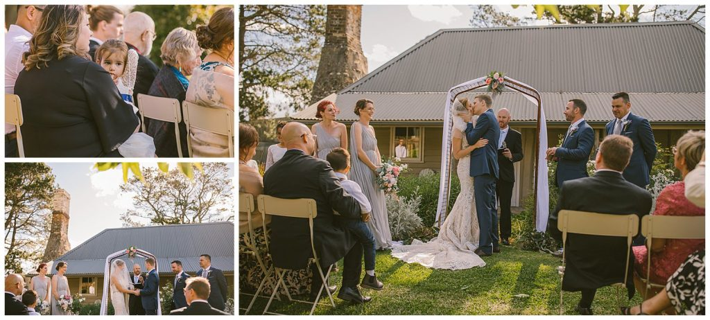 wedding ceremony venue southern highlands, relaxed wedding photographer