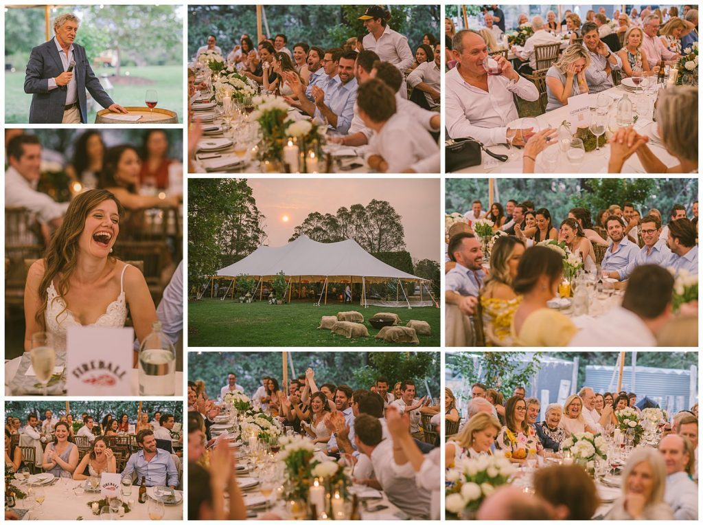 teepee wedding reception, tent wedding reception, southern highlands, goulburn wedding photographer, speeches