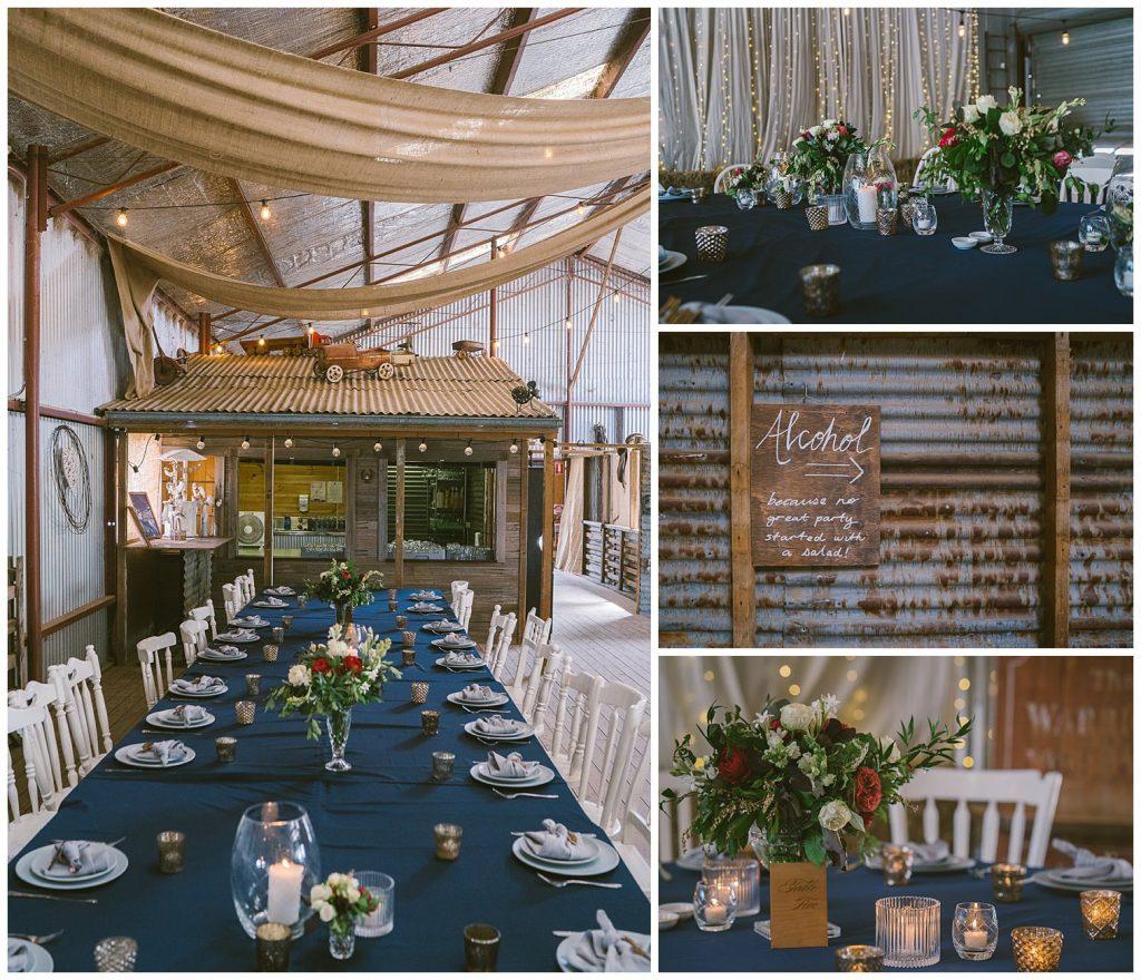 bushfield farm wedding, gundaroo wedding photographer, country wedding photographer, outback wedding, bush wedding, rustic wedding reception, canberra wedding photographer
