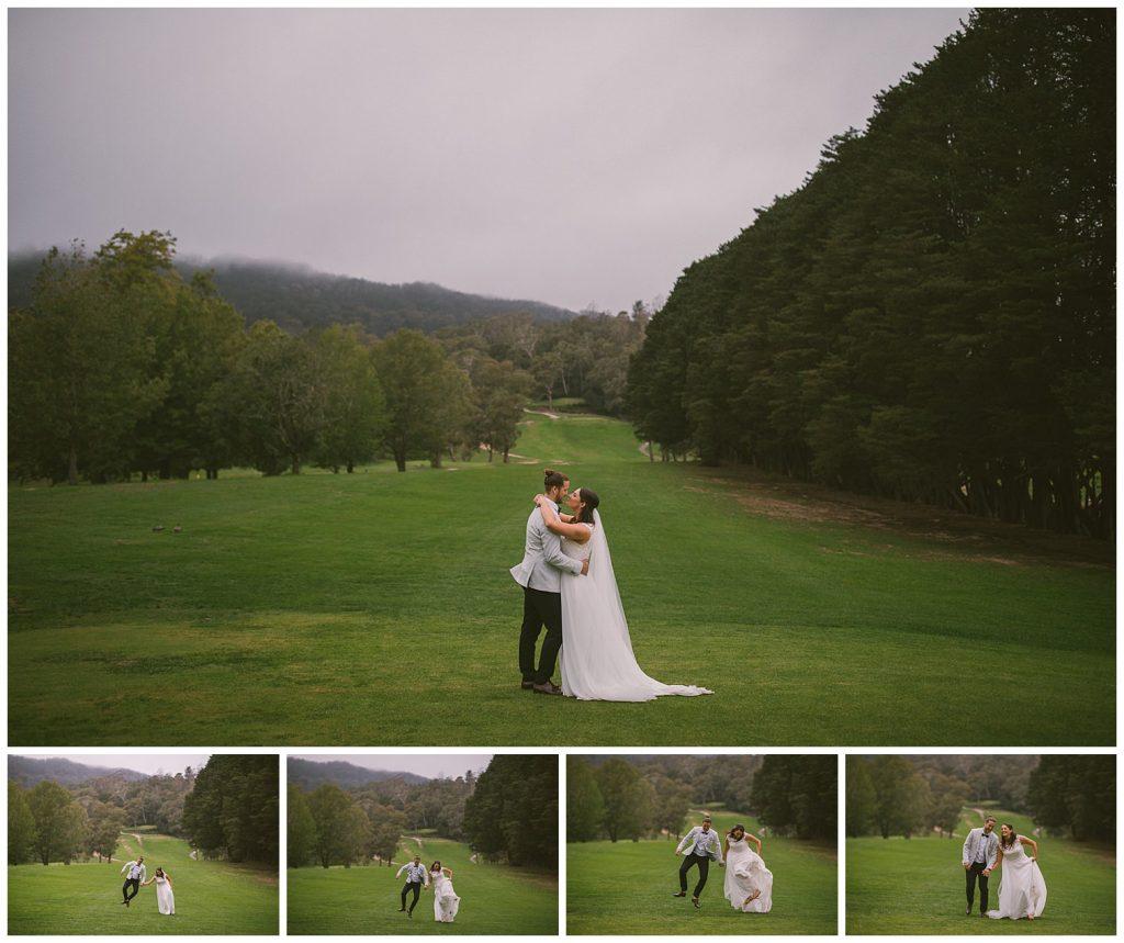 golf course, outdoor wedding, fun wedding