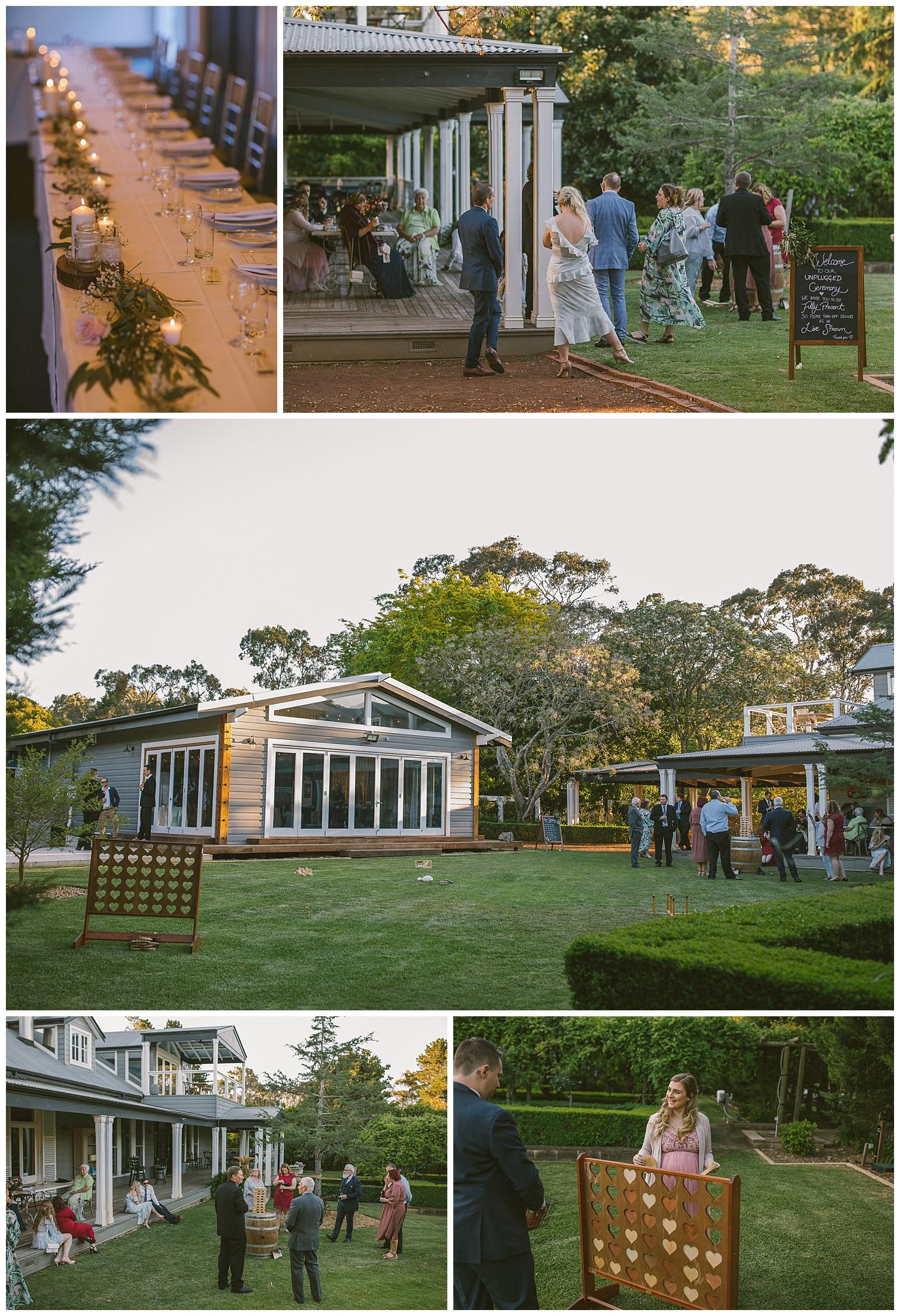 kalinya estate wedding, kalinya estate facilities