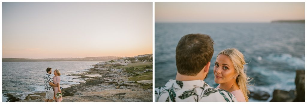 natural beach wedding, south coast, southern highlands photographer, goulburn photographer, sunset, relaxed