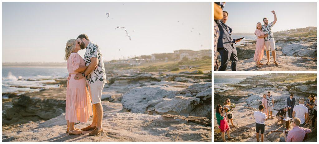 beach wedding, south coast, bowral wedding photographer, goulburn wedding photographer, relaxed bush photographer